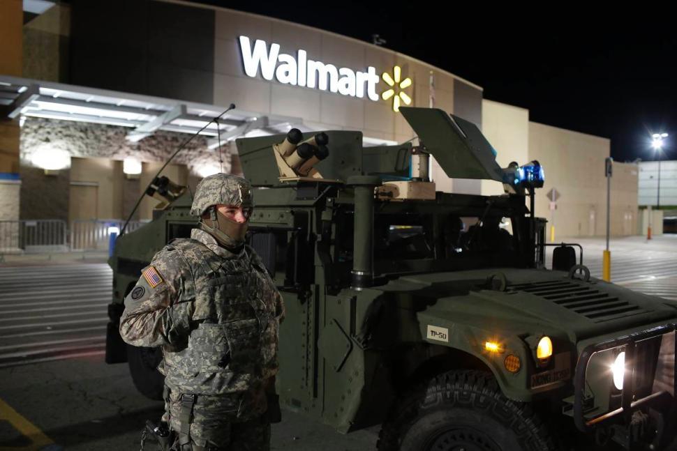 COW Walmart protection