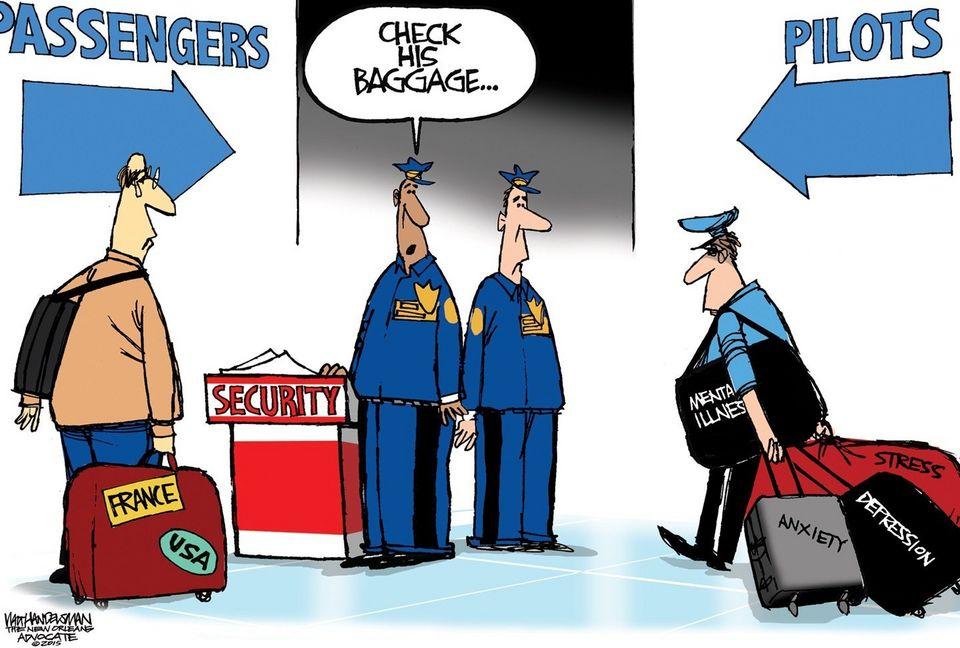 COW Pilot Baggage Check