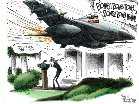 COW Bomb Iran