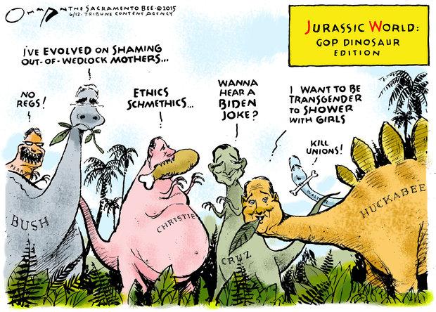COW Jurassic GOP