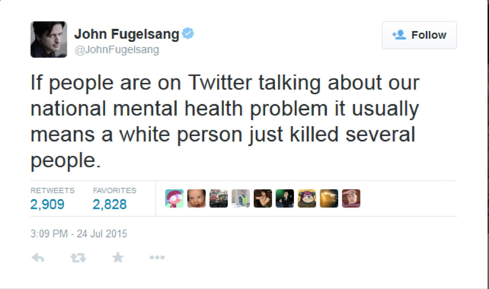 Fugelsang on Louisana