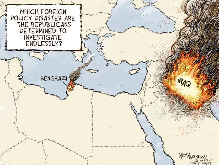 COW Benghazi Fire