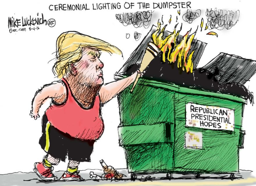 COW Donnie Dumpster