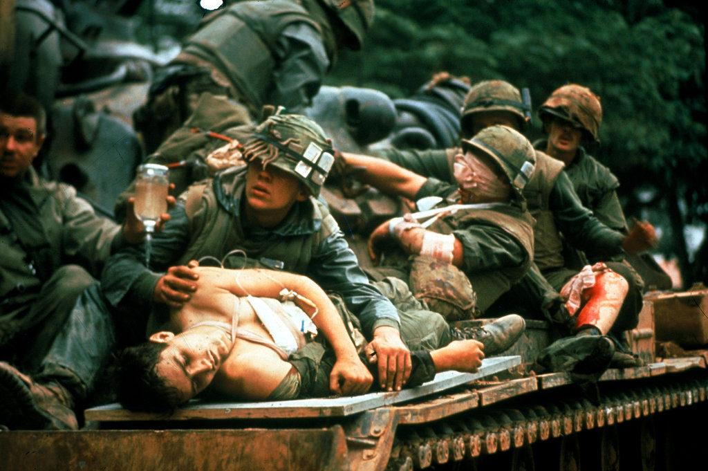 an analysis of vietnam war and the tet offensive vietcong guerrilla fighters